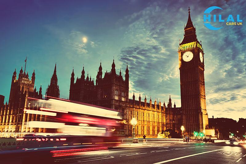 ساعة بيغ بن الاماكن السياحية في لندن