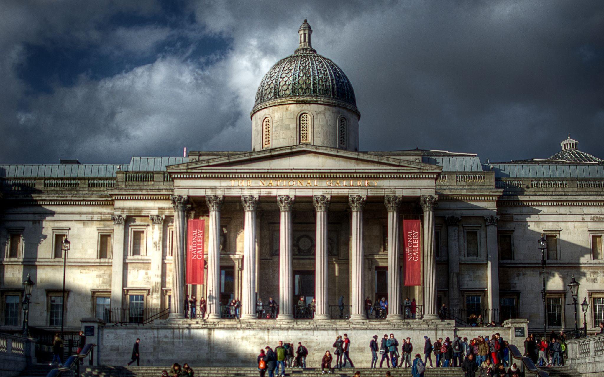 National Gallery الاماكن السياحية في لندن